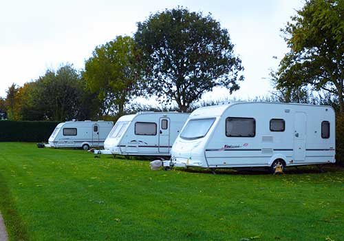 Caravan Touring and Camping at Manston Court